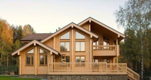 Сухой брус – отличный материал для строительства домов.