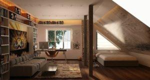 Как оформить небольшую комнату так, чтобы визуально она казалась больше.