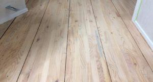Как быстро отремонтировать деревянный пол.